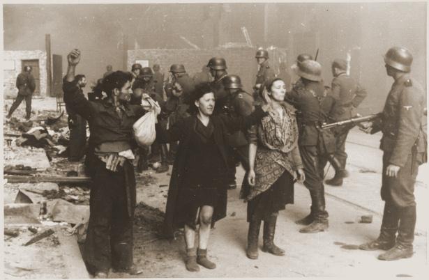 Facing a Nazi firing squad